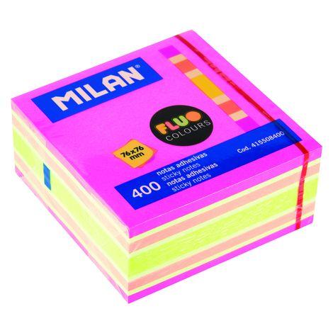 Irodai termékek  Öntapadó jegyzettömb  Fluo